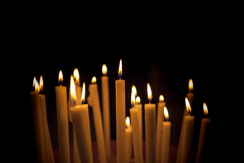 el significado de la llama de las velas