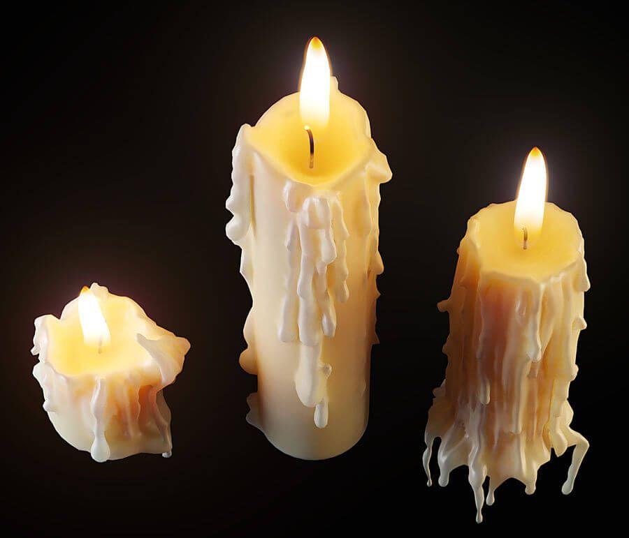 el significado de las lagrimas de las velas
