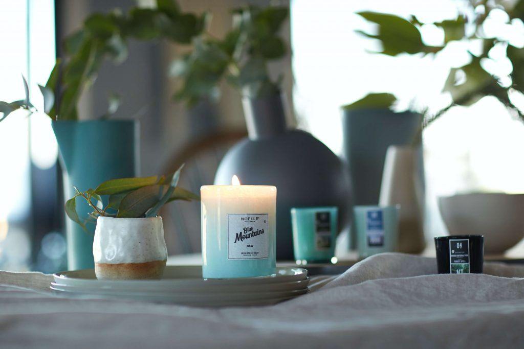 el significado de las velas azules