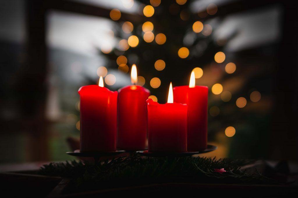 el significado de las velas rojas