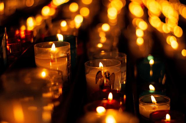 velas para los angeles